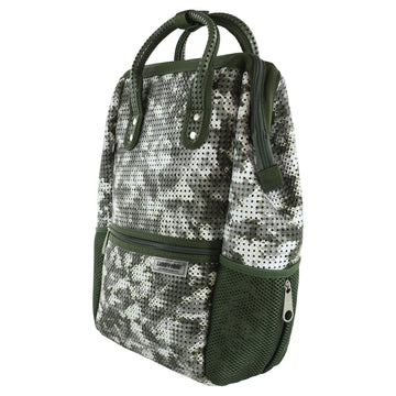Light + Nine New Camo Tweeny Backpack