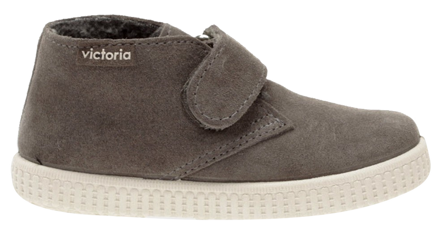 Victoria Safari Suede Hightop Vison Hook and Loop for Boy's and Girl's