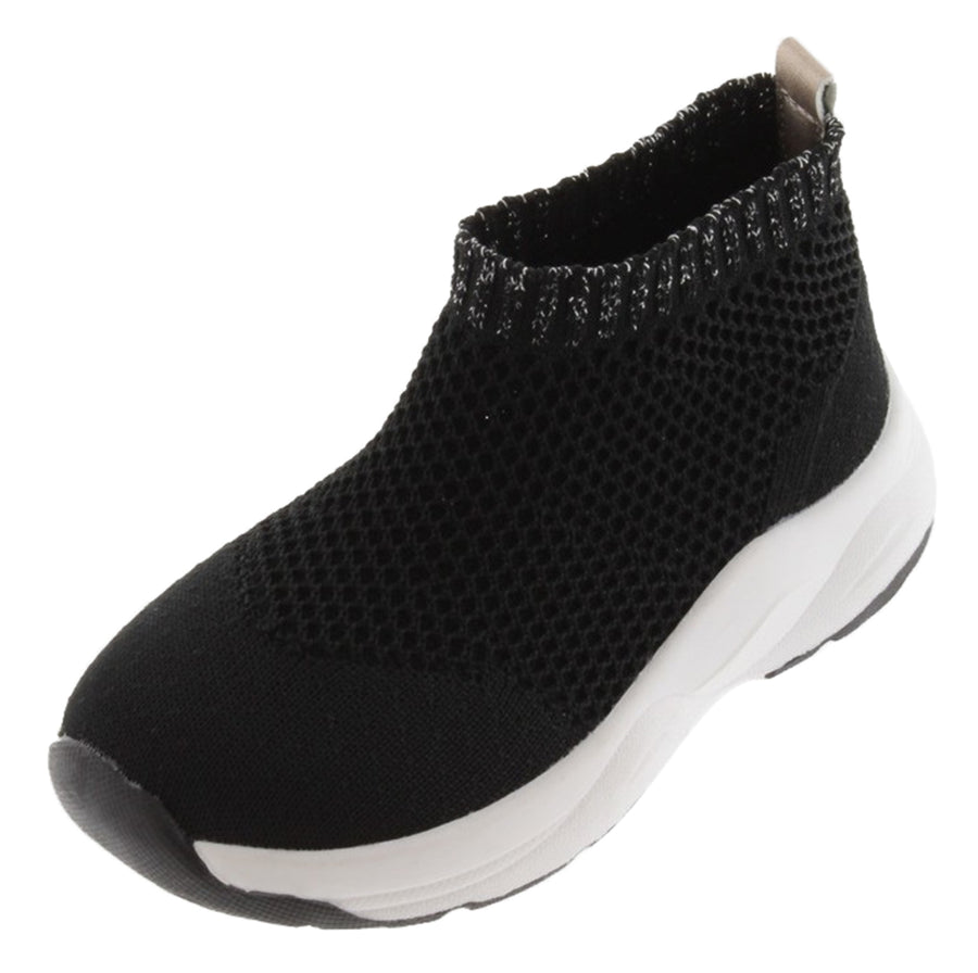 Victoria Boy's and Girl's Sports Sock Shoes Tricot, Black
