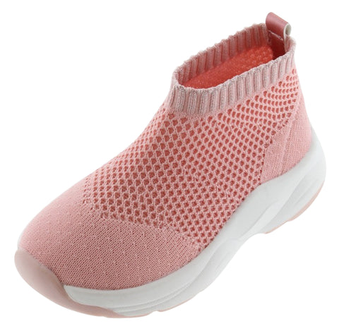Victoria Girl's Sports Sock Shoes Tricot, Rosa