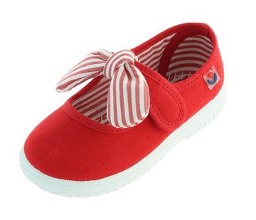 Victoria Girl's Bow Mary Jane, Rojo