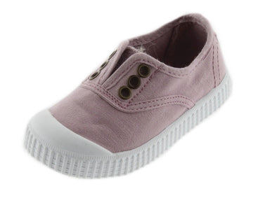 Victoria Girl's Inglesa Slip-On Canvas Sneakers, Violeta