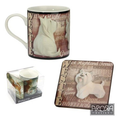 Set Cana si Suport de cana My Pedigree Pals Westie - PetGuru Pet Shop by Vetomed