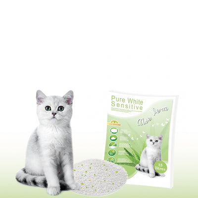 Asternut Pisici- Pure sensitive/Aloe Vera 15L