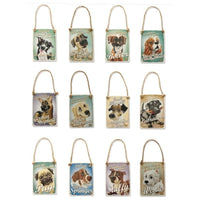 Decoratiune metal Pug - PetGuru Pet Shop by Vetomed  - 2