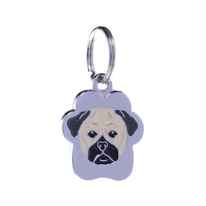 .Medalion Rainbow Pug - PetGuru Pet Shop by Vetomed  - 1