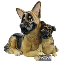 Figurina Pets with Personality Ciobanesc German cu pui - PetGuru Pet Shop by Vetomed