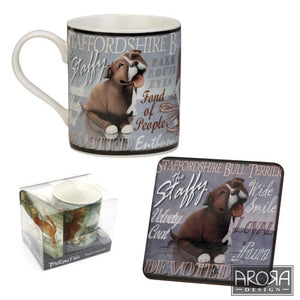 Set Cana si Suport de cana My Pedigree Pals Staffy - PetGuru Pet Shop by Vetomed