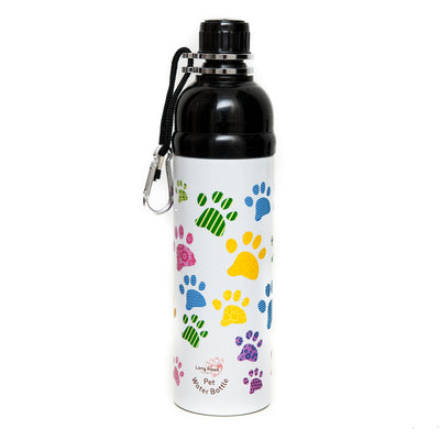 Recipient de apa Long Paws 750ml ( mai multe culori)