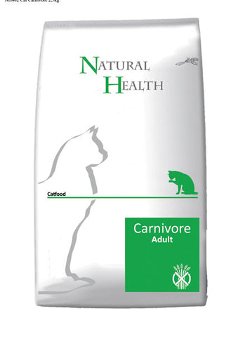 Natural Health Cat Carnivore 15kg - PetGuru Pet Shop by Vetomed