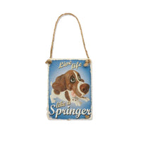 Decoratiune metal Springer Spaniel - PetGuru Pet Shop by Vetomed