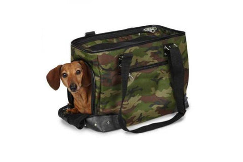 Geanta Transport Camuflaj - PetGuru Pet Shop by Vetomed