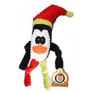 Jucarie de Craciun Pinguin cu sunet 40cm - PetGuru Pet Shop by Vetomed