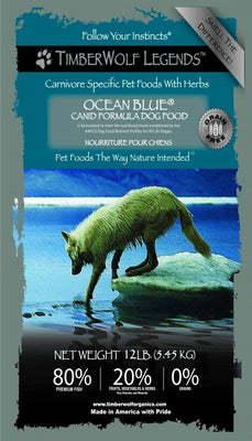 .Hrana Timberwolf LEGENDS Ocean Blue, Grain Free
