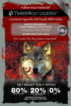 .Hrana Timberwolf LEGENDS Mediterranean, Grain Free