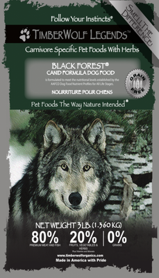 .Hrana Timberwolf LEGENDS Black Forest, Grain Free