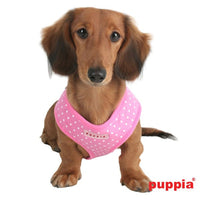 Ham Puppia cu buline roz M - PetGuru Pet Shop by Vetomed  - 2