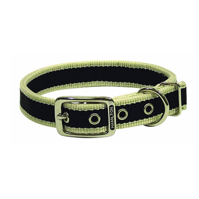 zgarda caini stripe moos green, pet guru, pet shop