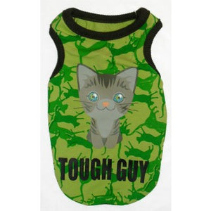 Tricou Tough Guy Pisici - PetGuru Pet Shop by Vetomed
