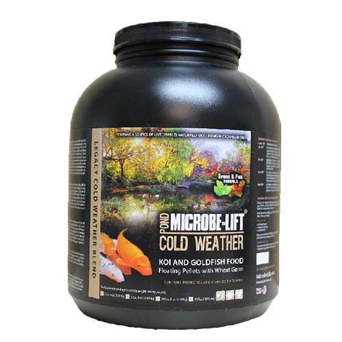 Microbe-Lift Wheat Germ Fish Food - Floating