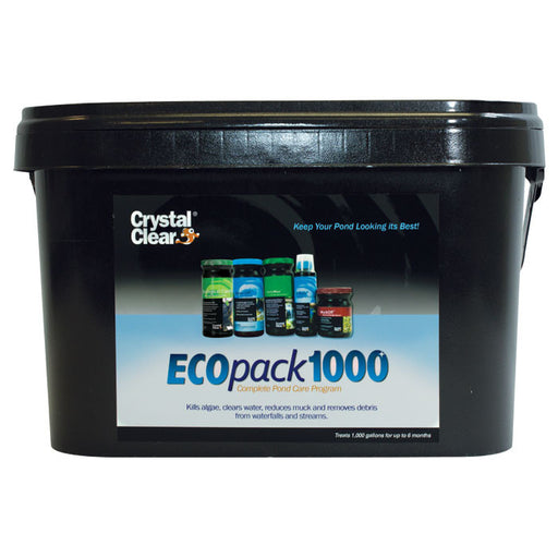 CRYSTAL CLEAR: ECOPACK 1000