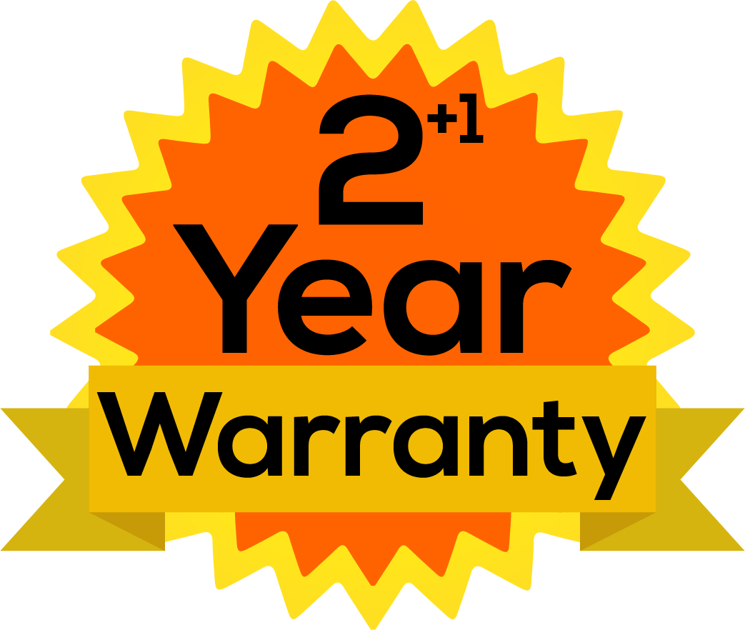 Extended Warranty 1 Year - SKU 50CR2.15S