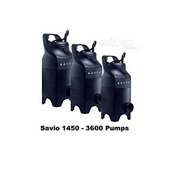 SAVIO:  WATER MASTER SOLIDS PUMPS