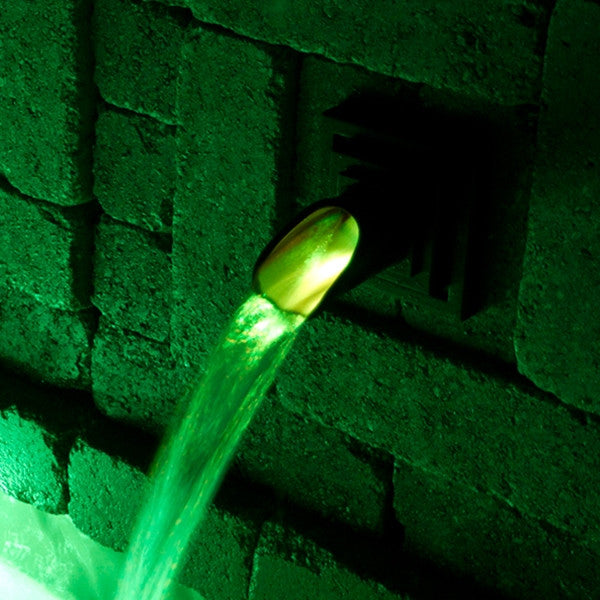 Atlantic Water Gardens Wall Spout Color Changing Light