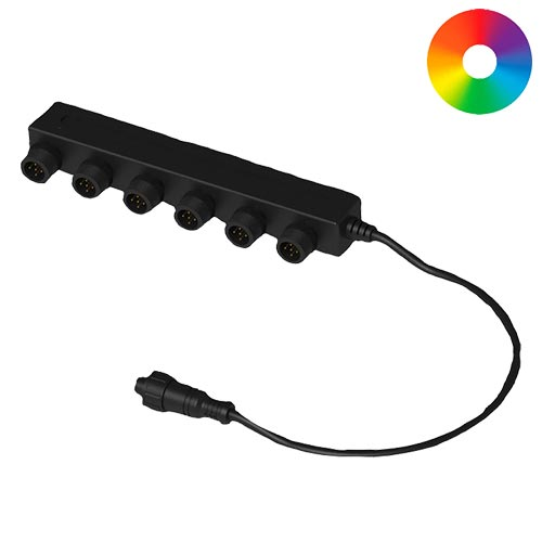 Aquascape 6-Way Color-Changing Splitter