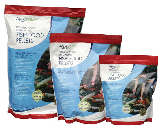 Aquascape Color-Enhancing Fish Food Pellets