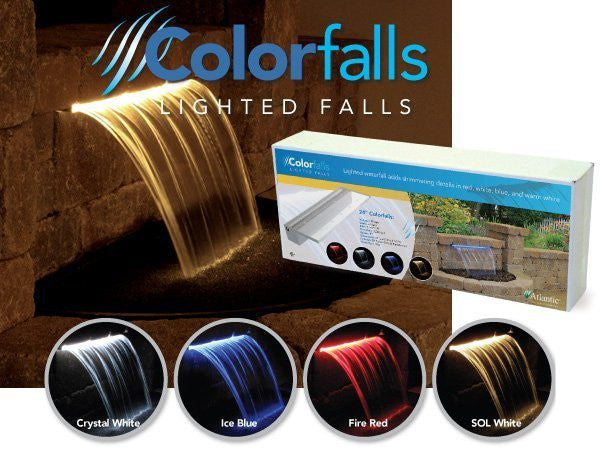 Atlantic Water Gardens - Colorfalls and Optional Basin Kit