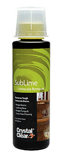 CRYSTAL CLEAR: SUBLIME LIME-SOLVE CLEANER 8-OZ