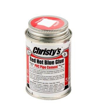 CHRISTY'S RED HOT BLUE GLUE
