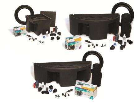 "ATLANTIC WG:  BASIN AND PUMP KIT FOR  12"", 24"" & 36"" Spillways (Colorfalls)"