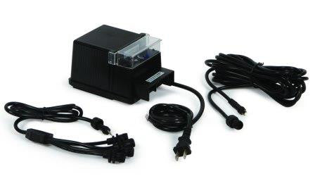 ATLANTIC WATER GARDENS 88 WATT TRANSFORMER WITH 10 WAY SPLITTER