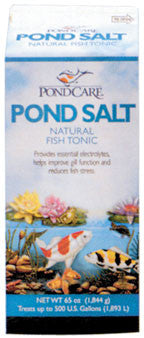 POND CARE: POND SALT 50-LBS