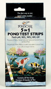 API/POND CARE: 5-IN-1 DIP STRIPS TEST STRIPS