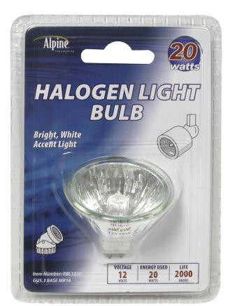 ALPINE 20 WATT HALOGEN REPLACEMENT BULB