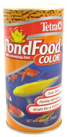 TETRA COLOR FISH FOOD STICKS