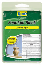 TETRA ANTI ALGAE BLOCK FOR FOUNTAINS 6 PACK