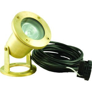 Pond Force Brass 20 Watt Halogen Pond Light