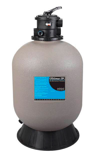 AQUA UV:  ULTIMA II Cyclonic Filter