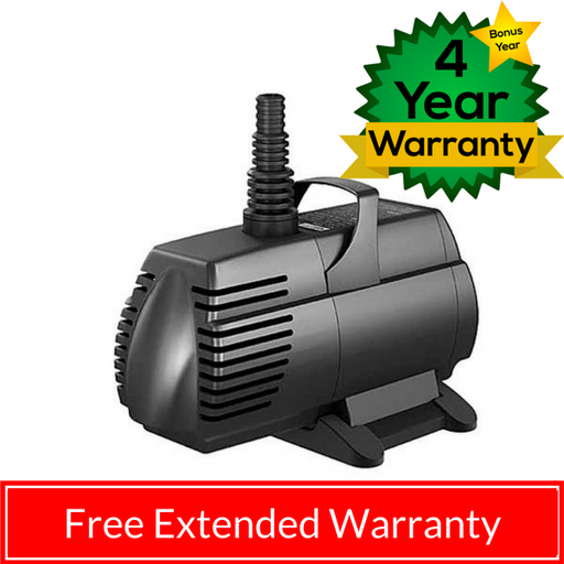 AQUASCAPE: ULTRA SUBMERSIBLE PUMP - 6 SIZES - 400 TO 2000 GPH
