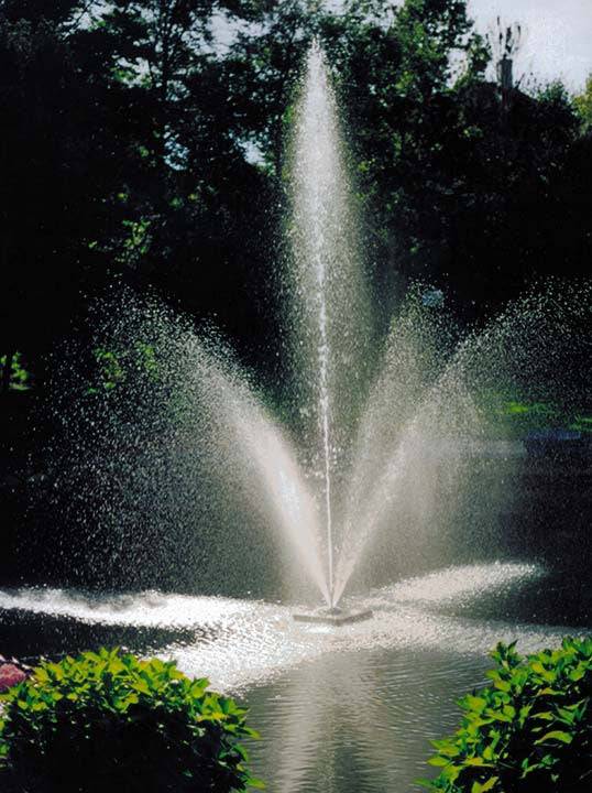 SCOTT AERATOR:  CLOVER BIG SHOT FOUNTAIN 1/2-HP