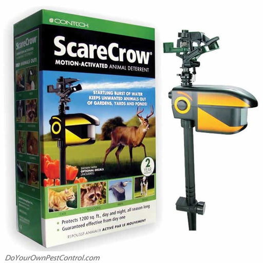 Scarecrow: Motion-Activated Animal Deterrent