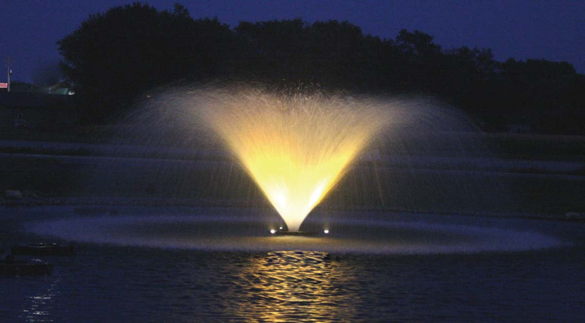 KASCO 1HP AERATING 4400 VFX FOUNTAINS