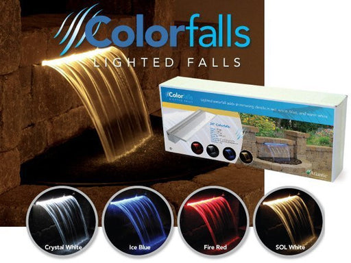 "ATLANTIC WATER GARDENS - COLORFALLS - 12""  WATERFALL WEIR"