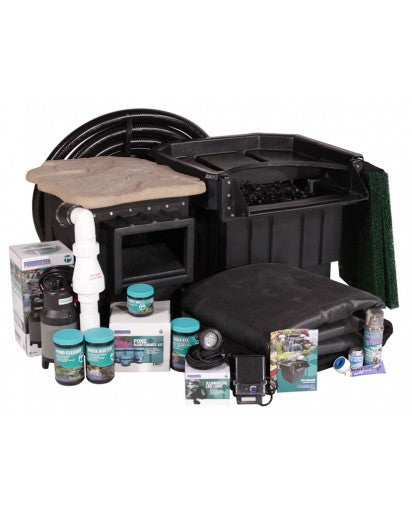 PONDBUILDER: Elite 6' x 8' Complete Pond Kit