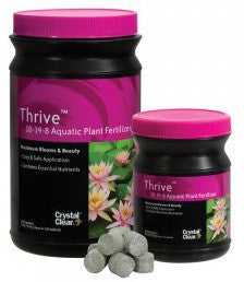 CRYSTAL CLEAR: THRIVE AQUATICS TABS