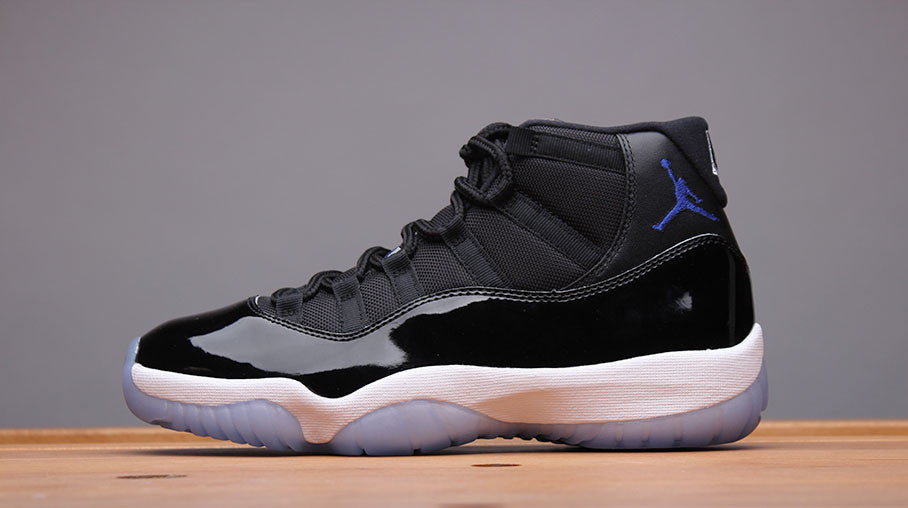 "Take a closer look at the 2016 Air Jordan 11 Retro ""Space Jam"""